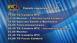 Oggi su RTC Telecalabria – Programmazione del 19 giugno 2019