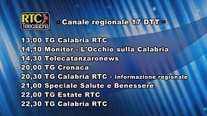 Oggi su RTC Telecalabria – Programmazione del 25 giugno 2019