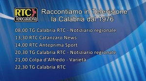 Oggi su RTC – Programmazione del 21 febbraio 2020