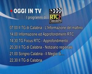 IN TV SU RTC – Venerdì 26 Febbraio