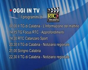 IN TV SU RTC – Venerdì 5 Marzo