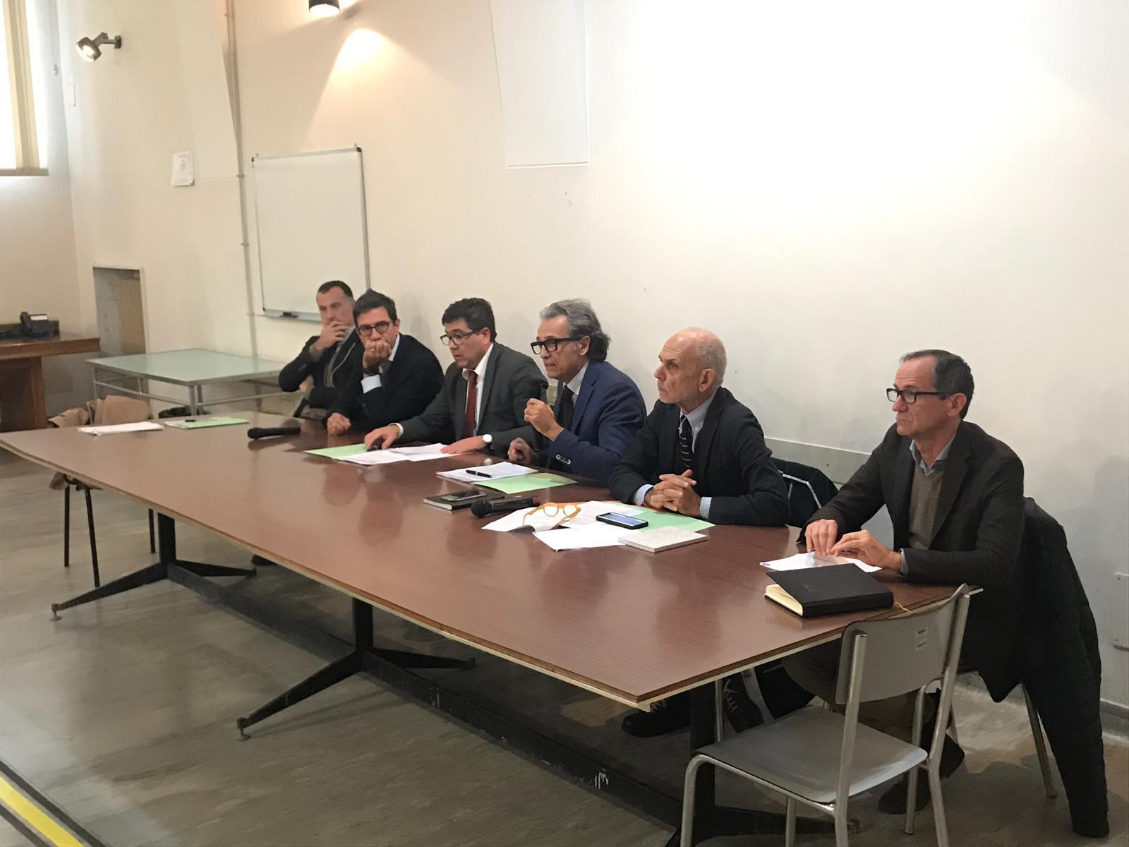D'Amato e Mostarda incontrano i Sindaci del Distretto H1. Stanziati 5 milioni per adeguamento strutturale e nuove tecnologie