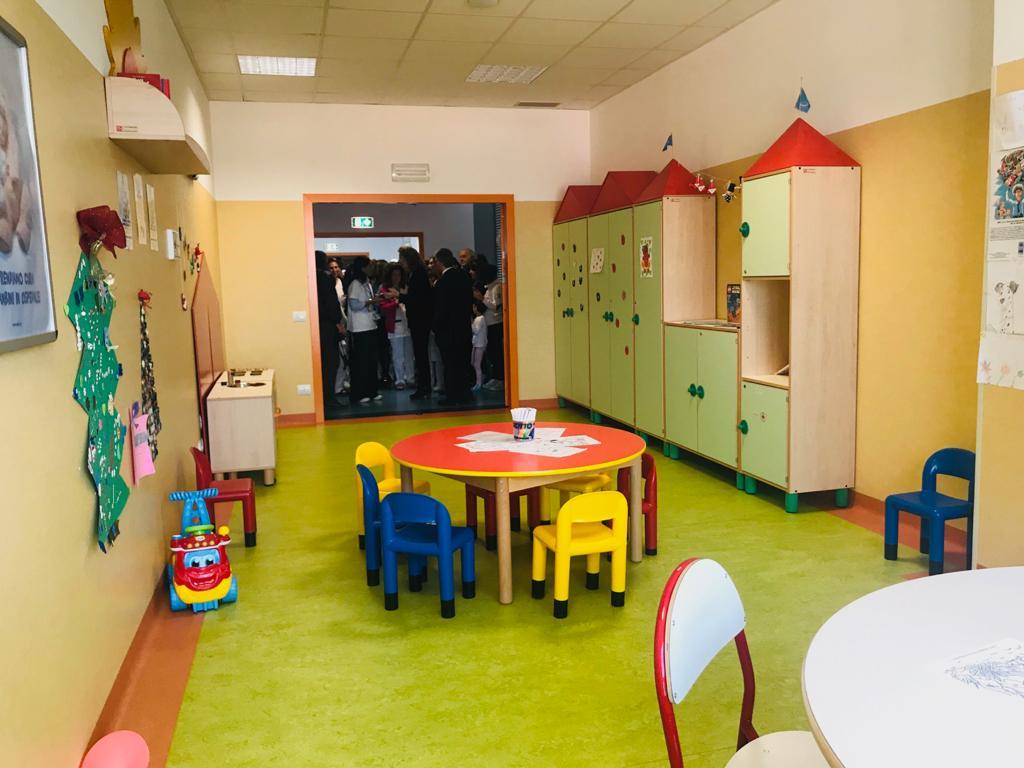 Inaugurata la Ludoteca dell'Ospedale dei Castelli, nella UOC di Pediatria e Neonatologia