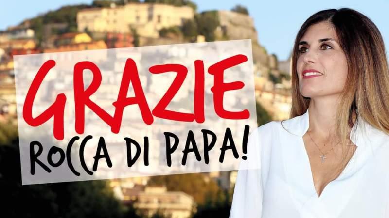 Veronica Cimino è il nuovo Sindaco di Rocca di Papa: le sue prime parole da Sindaco