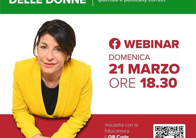 """Marino – """"La primavera delle donne"""", webinar al femminile nel salotto online di Gabriella De Felice"""