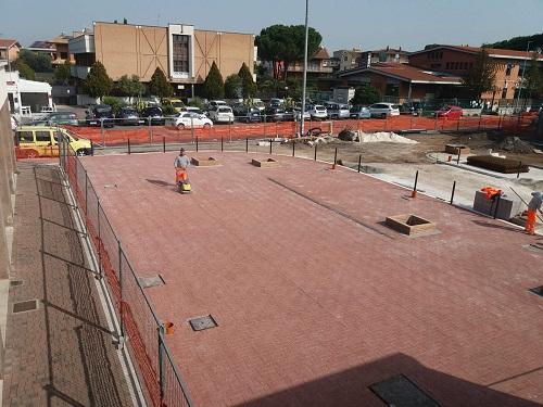 Morena (Roma), prende forma la nuova Piazza Castrolibero