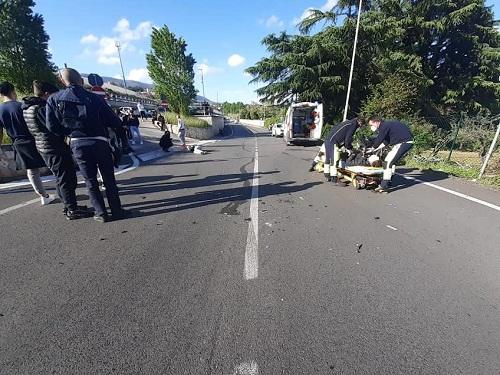 Velletri, grave incidente nel tardo pomeriggio di ieri vicino alla Stazione: 3 feriti