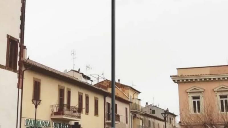 Monte Porzio, dopo anni il palo di For de Porta s'illumina!