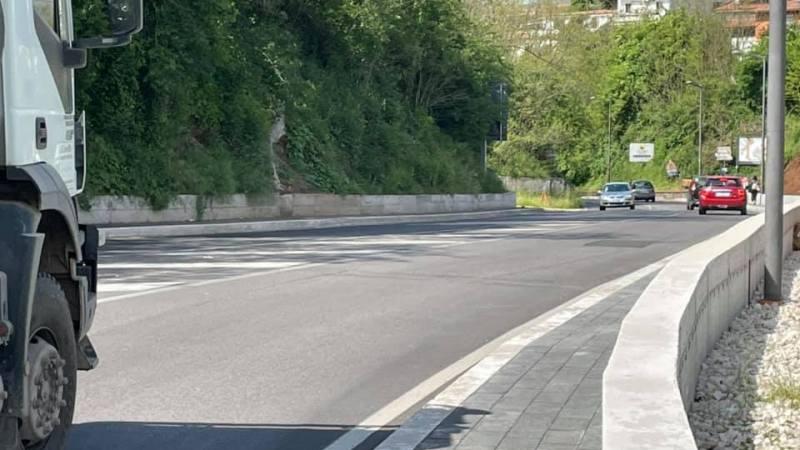 Valmontone, completato il marciapiede di Via Ariana: in sicurezza da Colle Belvedere alla Stazione FS