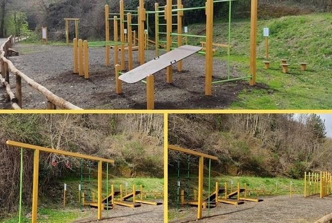 """Velletri, inaugurazione dell'area """"Playground"""" alla Casa del Parco"""