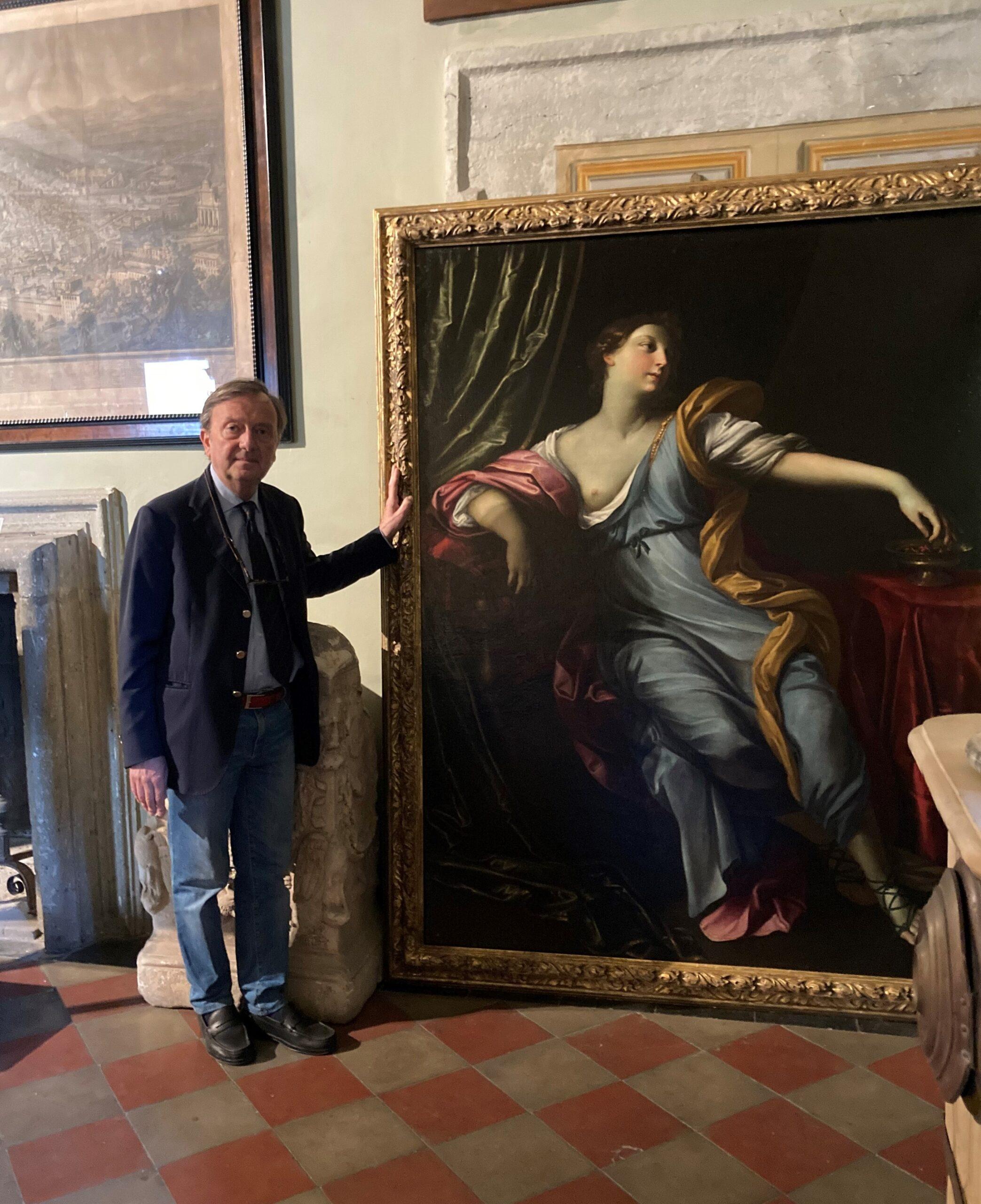 """Ariccia, ripartono le attività di Palazzo Chigi, anche il programma """"Dipinti del Barocco Italiano"""""""