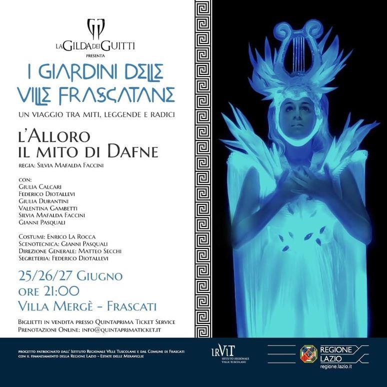 """Frascati, parte il programma di spettacoli """"I Giardini delle Ville Frascatane"""""""