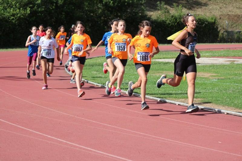 Atletica Frascati, show a Rocca Priora dei giovanissimi