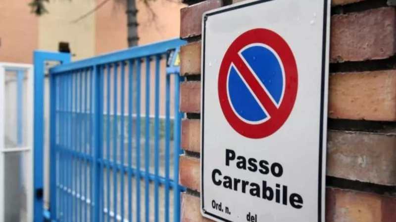 Monte Porzio, verifica regolarità dei passi carrabili