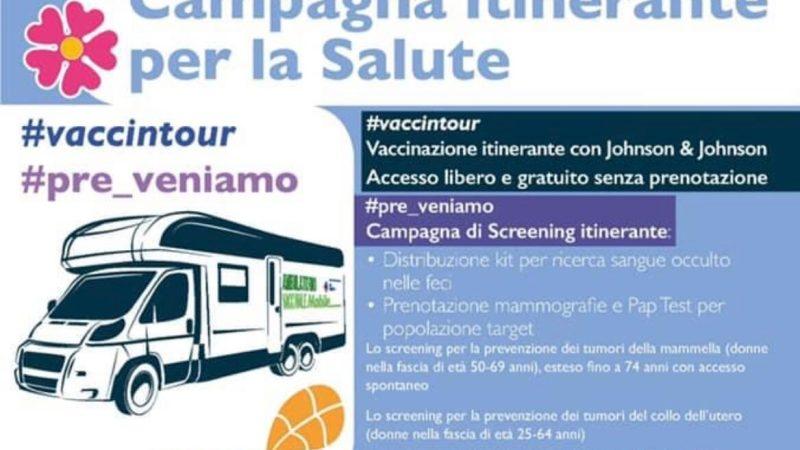Cave, il 6 agosto torna l'ambulatorio mobile per i vaccini e la campagna di prevenzione oncologica