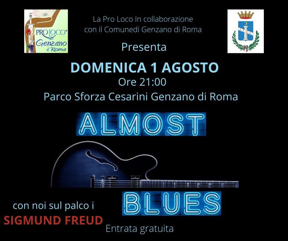 Genzano, agosto parte in musica con gli Almost Blues