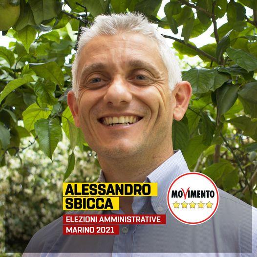Marino, Presentazione di Alessandro Sbicca, candidato consigliere lista movimento 5 stelle