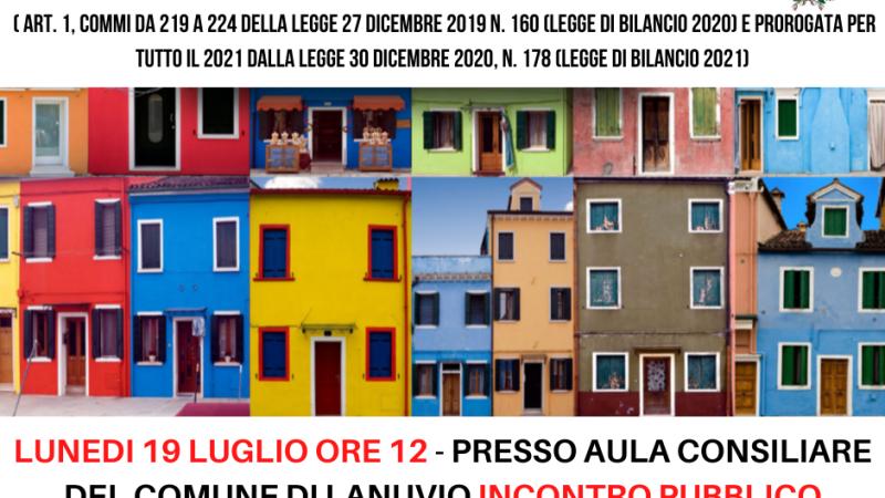Lanuvio, Volpi: lunedì 19 un incontro in comune per parlare del Bonus Facciate 90%