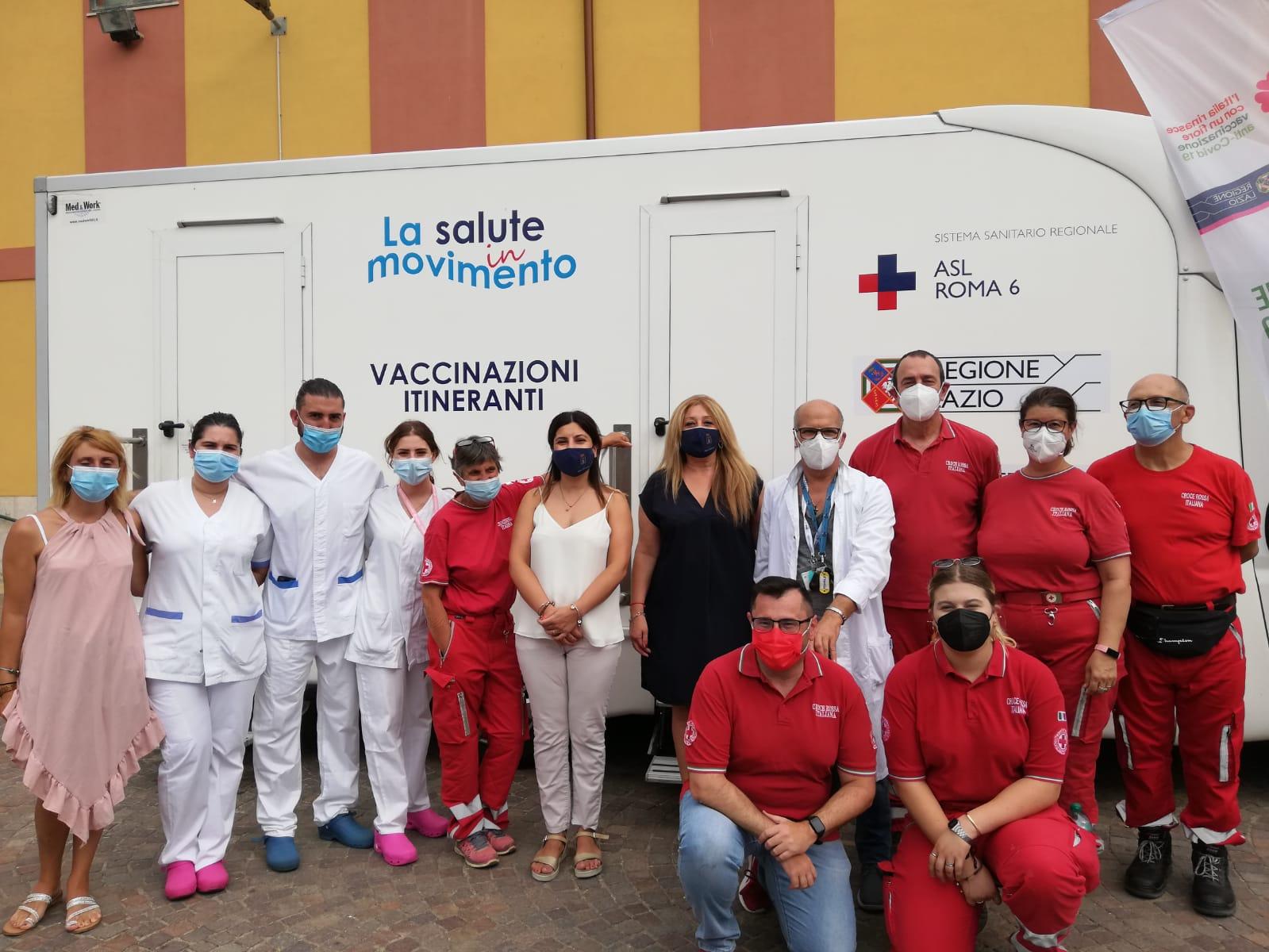 Pomezia, Salute in Movimento: arriva il camper della Asl Roma 6 per i vaccini itineranti anti-Covid