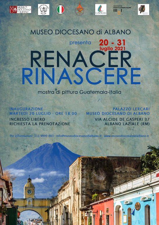 """Albano, al Museo Diocesano la mostra di artisti Guatemaltechi """" RENACER-RINASCER"""""""