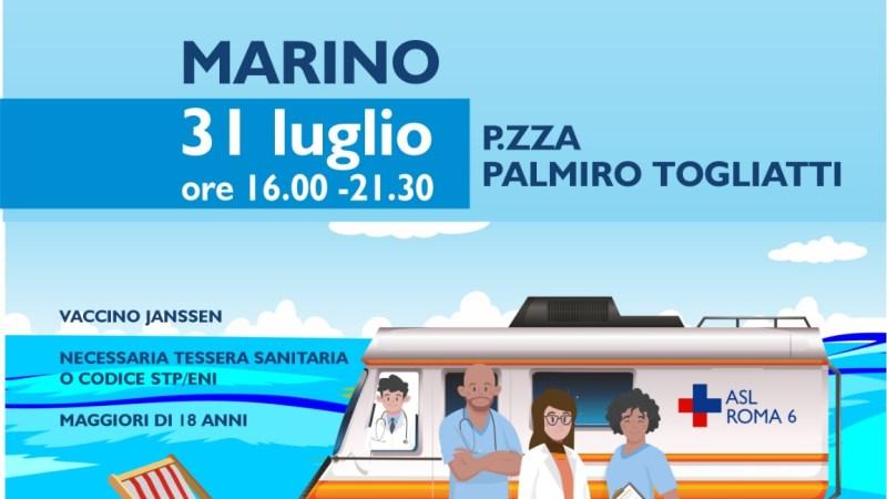 Arriva a Marino la campagna di vaccinazione itinerante
