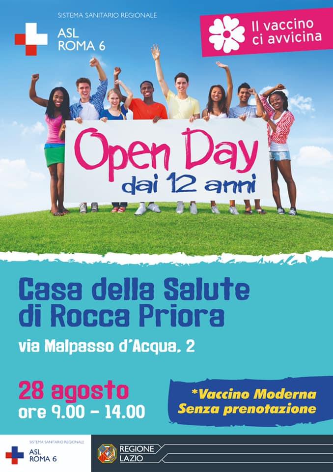 Rocca Priora, Open Day Moderna alla Casa della Salute