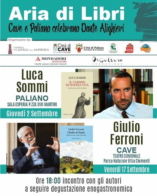 Aria di Libri con Dante Alighieri, doppio appuntamento con il Sommo Poeta
