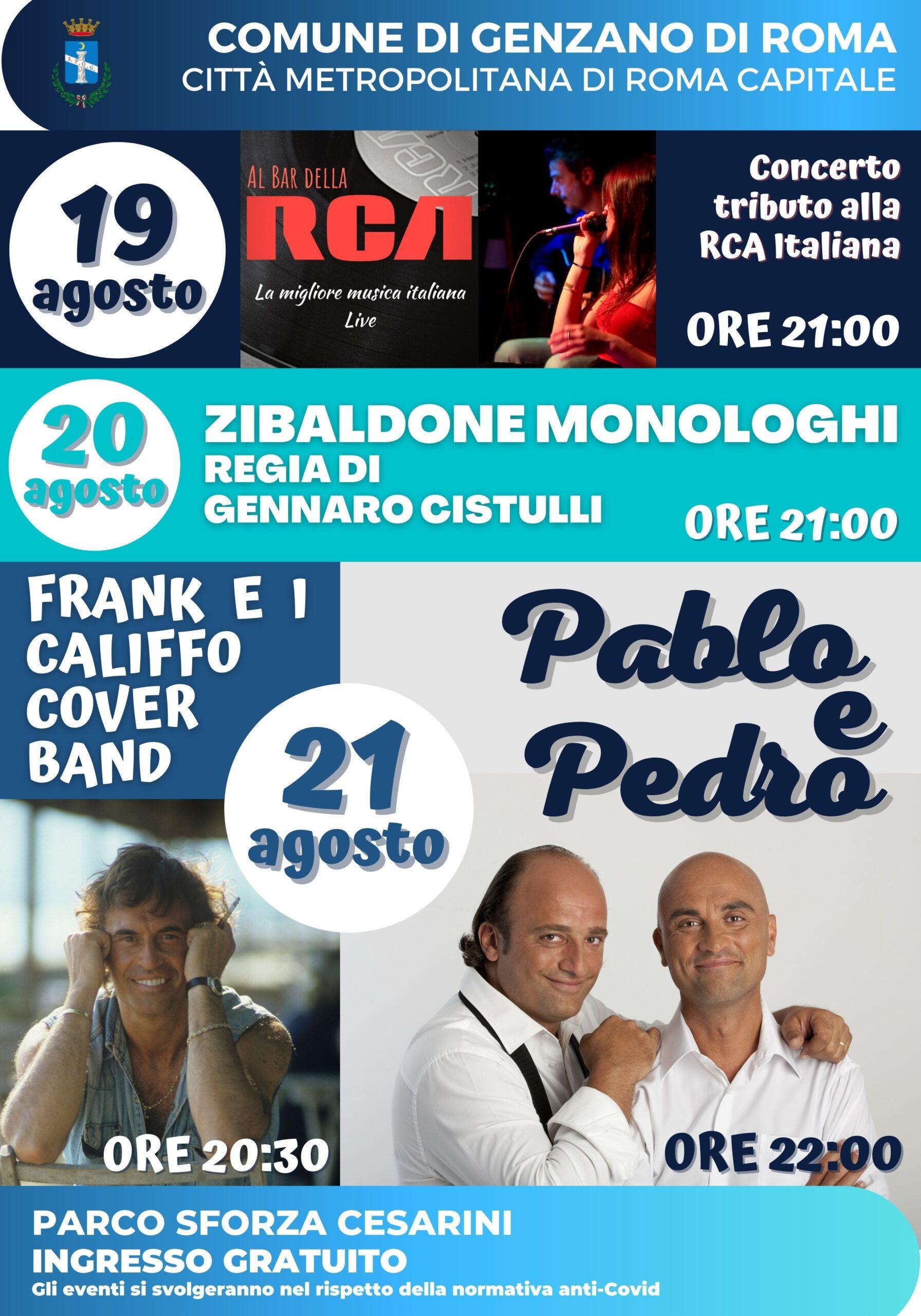 Genzano, un altro weekend di divertimento al Parco Sforza Cesarini, dal 19 al 21 agosto