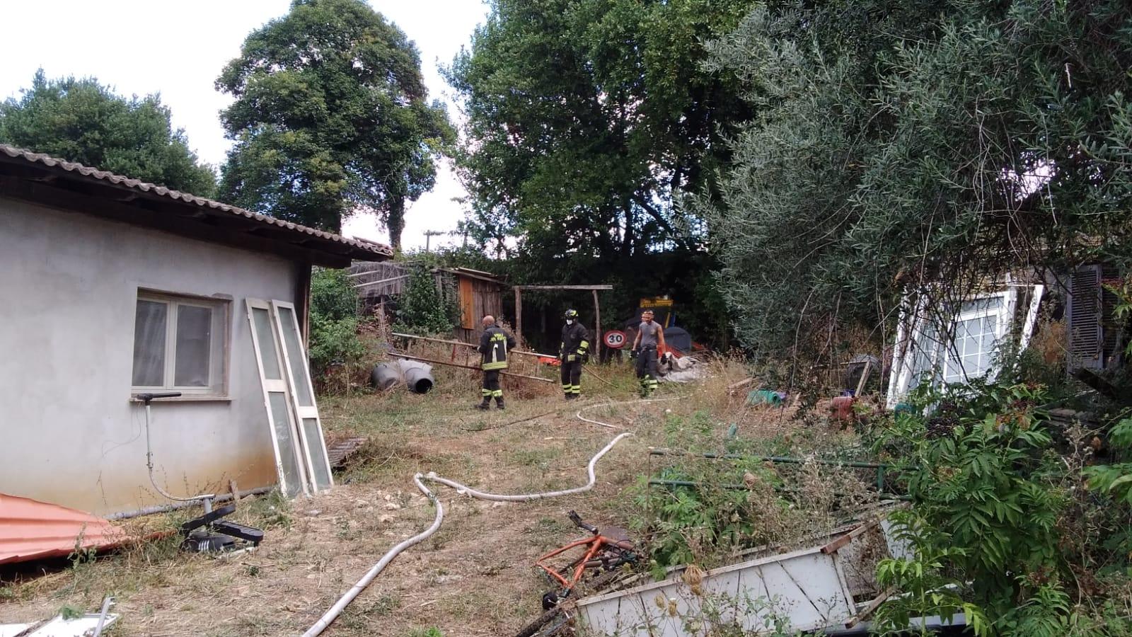 Velletri, deceduta una signora anziana mentre dava fuoco alle sterpaglie