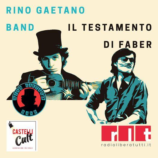 Genzano, grande ritorno della musica d'autore dal vivo con Il Testamento di Faber e Rino Gaetano Band a Parco Sforza