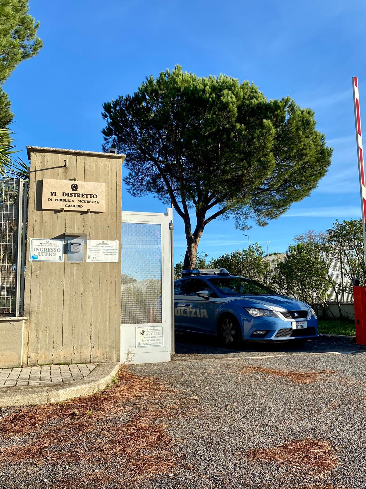 Tor Bella Monaca, dopo un'indagine lampo, Polizia di Stato individua e denuncia un rapinatore