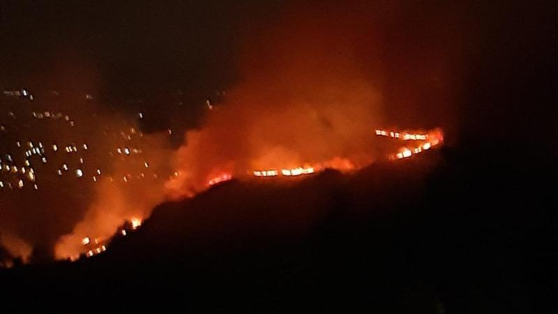 Frascati, piromani incendiano monte Tuscolo