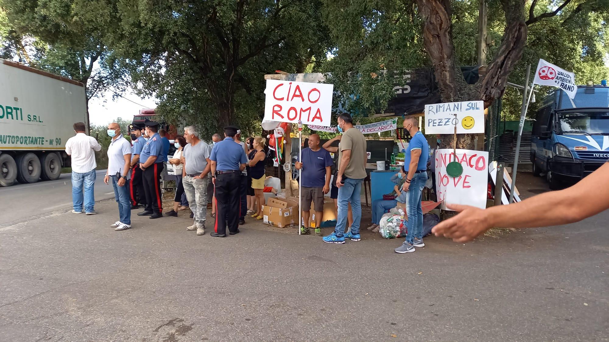 Cecchina, non si fermano le proteste contro la riapertura di Roncigliano