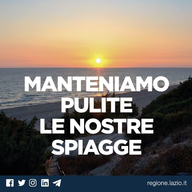 Lazio, come contribuire alla cura delle nostre spiagge