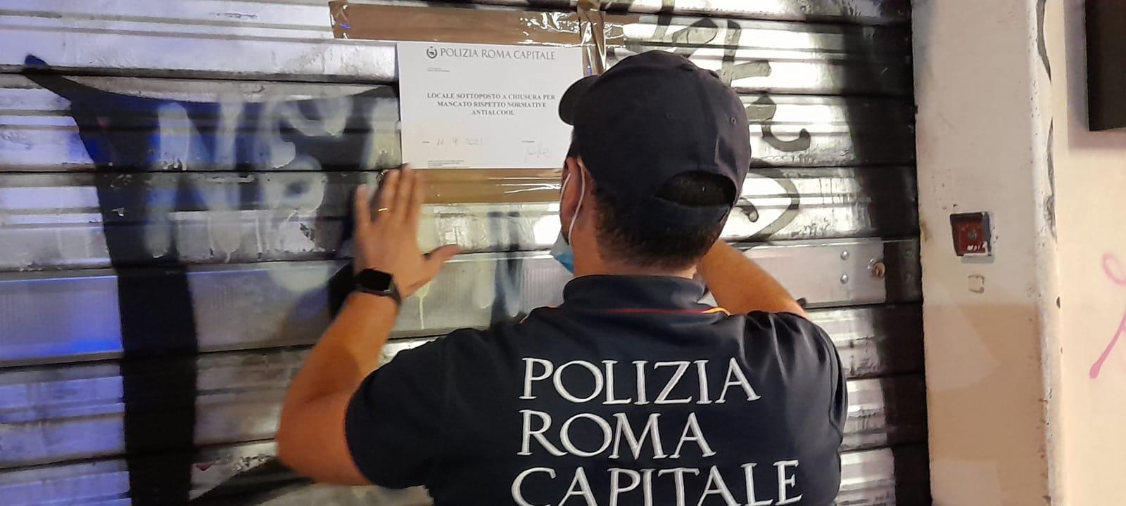 Roma, oltre 2mila controlli nel fine settimana: più di 60 le attività sanzionate
