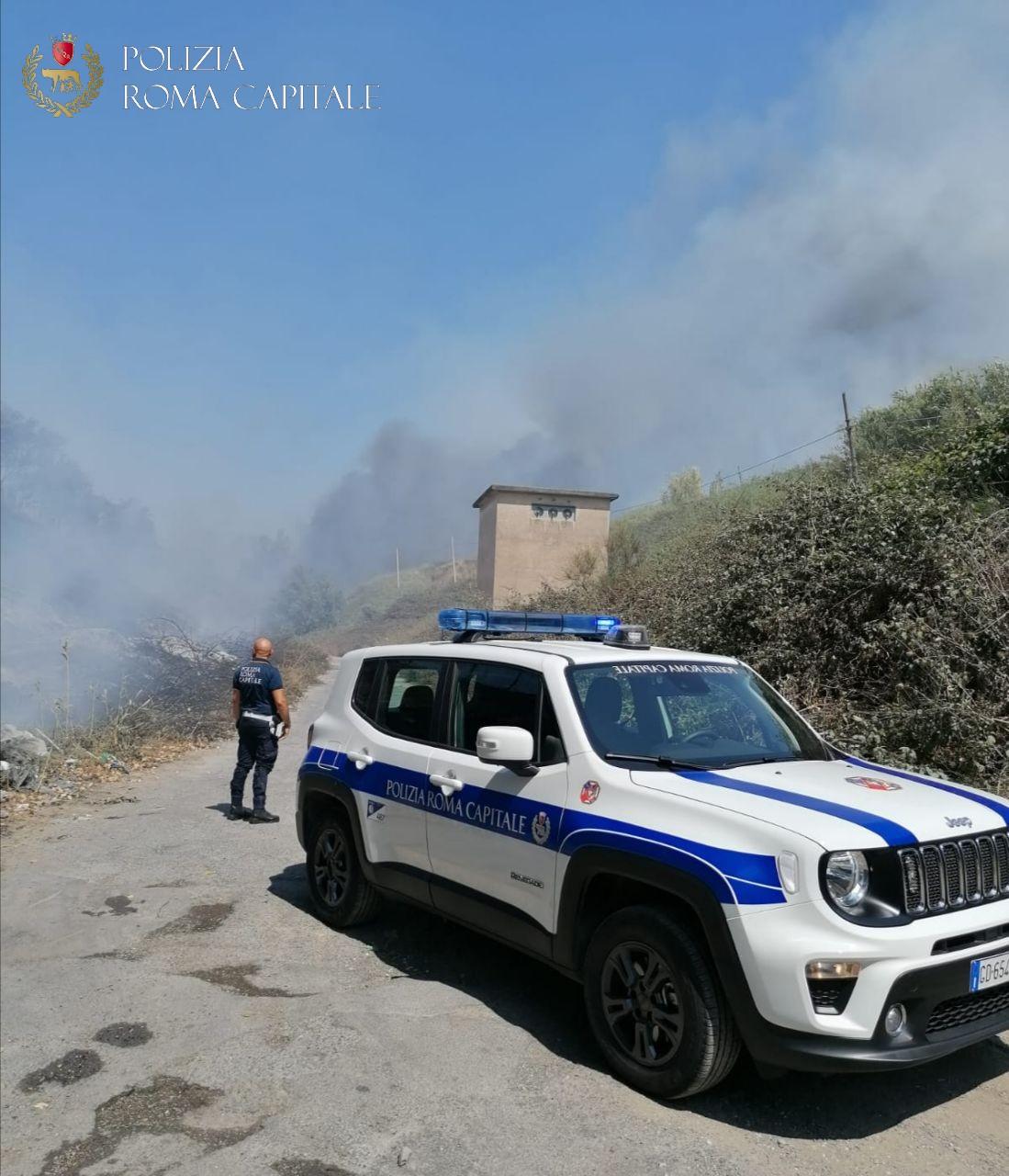 Roma. Roghi tossici, la Polizia Locale arresta 5 persone
