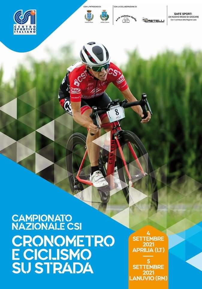 """Lanuvio, domani la gara nazionale di ciclismo """"SafeSport un nuovo modo di giocare"""""""