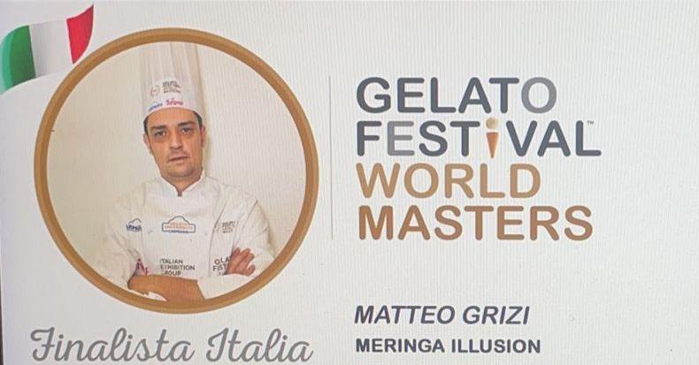 Albano, Matteo Grizi conquista la finale italiana del Gelato Festival World Master