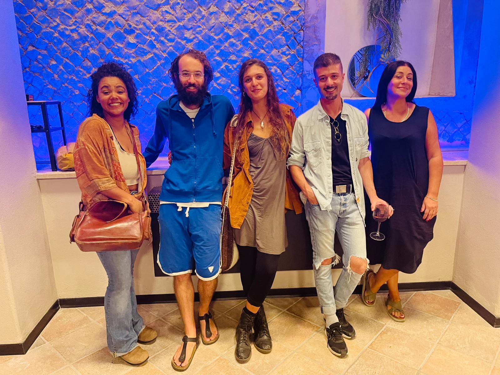 """Frascati, Monte Porzio Catone, pre-opening progetto artistico """"Barco Lab"""""""