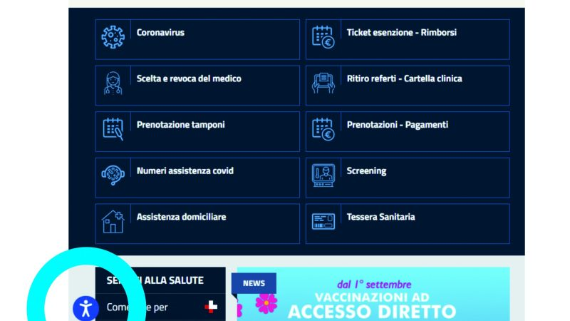 Lazio. Als Roma 6, un'informazione più inclusiva: l'accessibilità al web per le persone con disabilità.