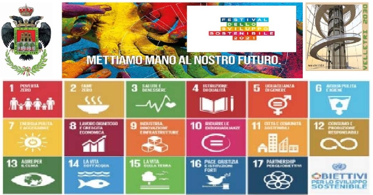 Velletri, 2 e 3 ottobre Festival dello Sviluppo Sostenibile 2021