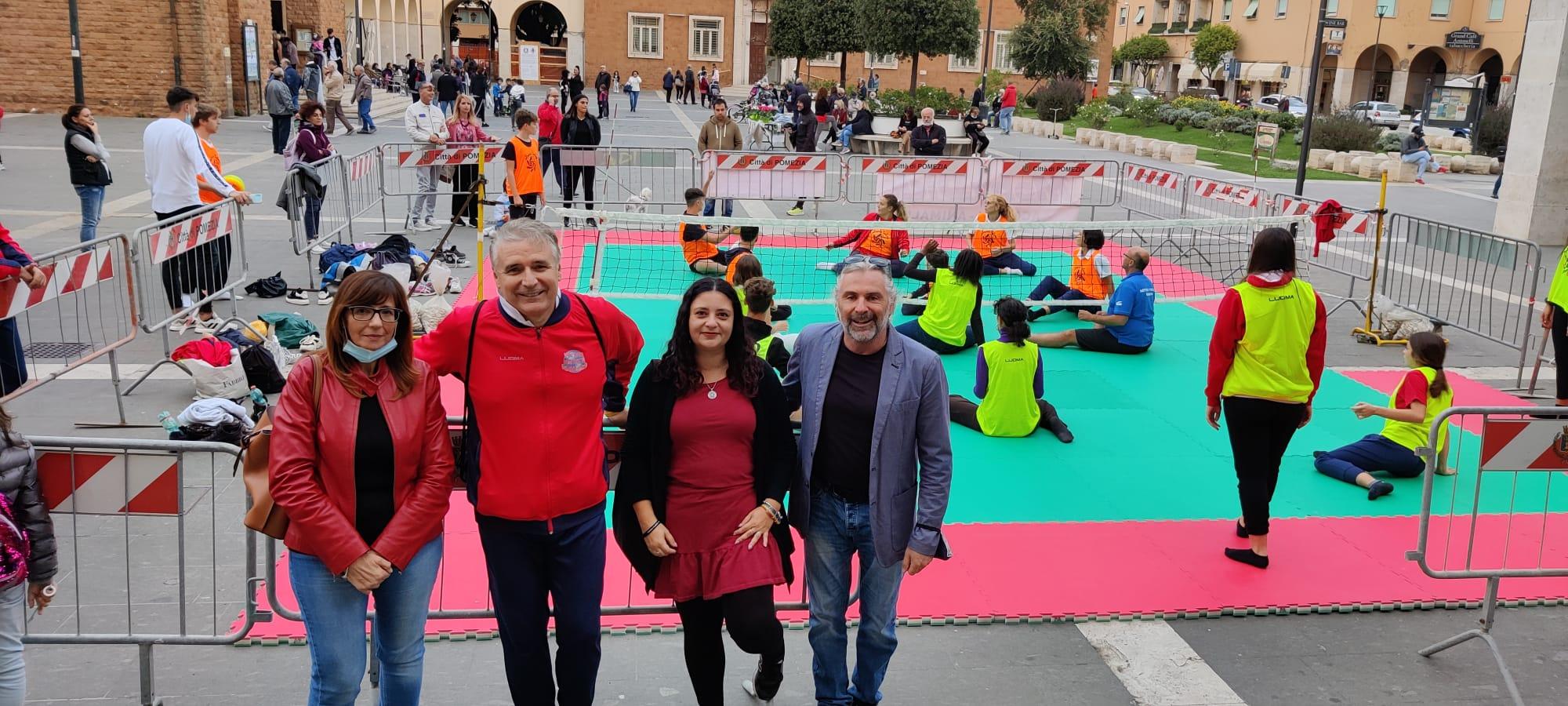 Pomezia, Sport: evento sitting volley per una pallavolo di inclusione e senza barriere