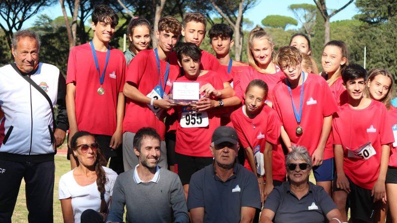 Atletica Frascati, titolo regionale Ragazzi: dieci atleti nella rappresentativa Roma Sud