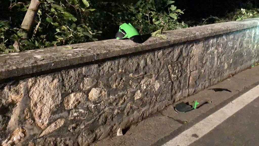 Tragedia sfiorata a Segni: motociclista cade in una scarpata