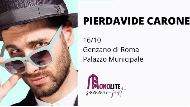 Genzano, Monolite Summer Fest: le ultime due serate il 15 e 16 ottobre