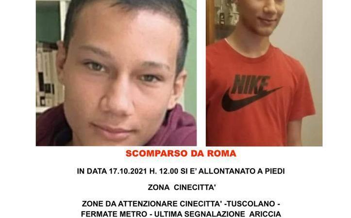 Ariccia, trovato morto il giovane che domenica era scomparso da Cinecittà