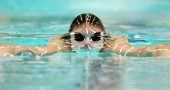 Norway's Alexander Dale Oen swims to a s