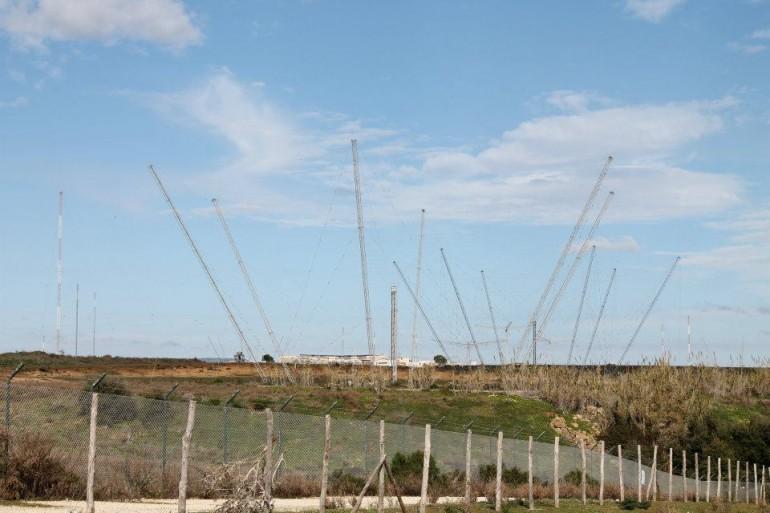 Particolare antenne NRTF di Niscemi