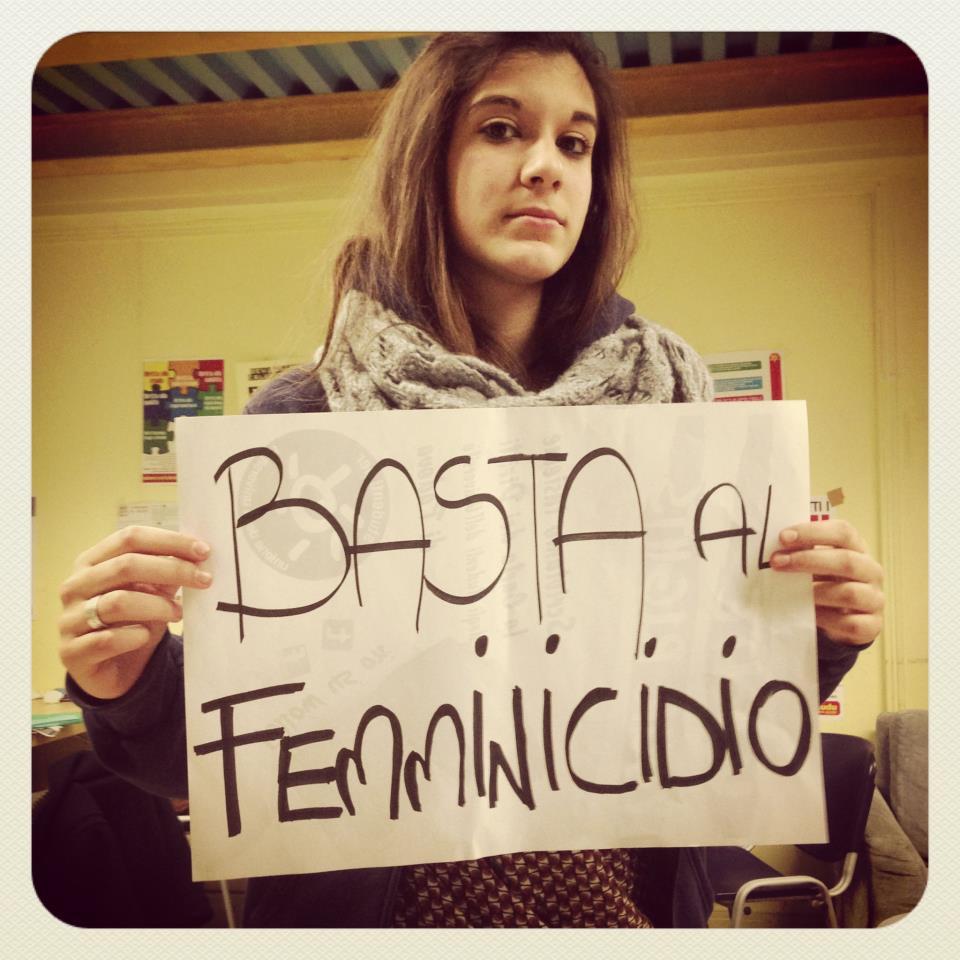 basta al femminicidio