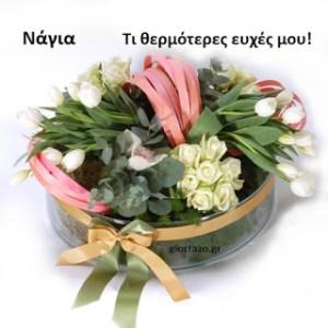 Read more about the article Νάγια Τι θερμότερες ευχές μου!